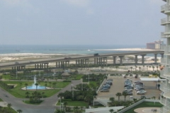 View of Perdido Pass from Caribe