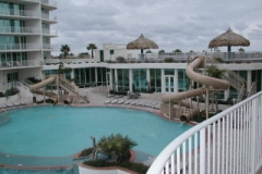 Caribe outdoor pool and waterslide